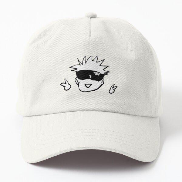 Gojo sensei peace Dad Hat