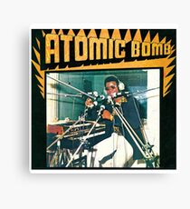 William Onyeabor - Atomic Bomb Canvas Print