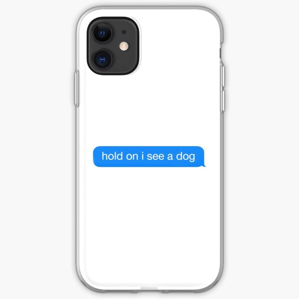 Dog Distraction iPhone Soft Case