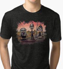 """School Chums"" Tri-blend T-Shirt"