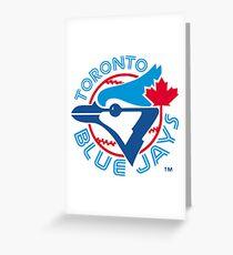 America's Game - Toronto Blue Jays Greeting Card