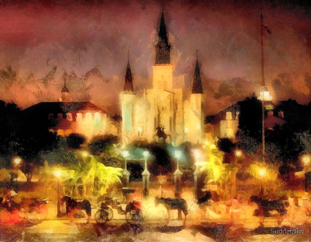 Jackson Square, New Orleans by SuddenJim