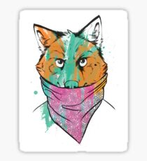 BANDITO WOLF Sticker