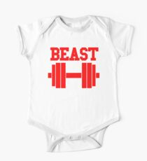 BEAST - BARBELL One Piece - Short Sleeve