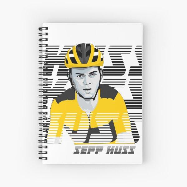Sepp Kuss – pro cyclist, super-talent, American racer  Spiral Notebook