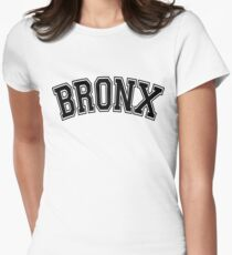 BRONX, NYC Womens Fitted T-Shirt