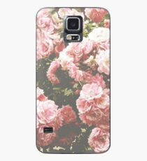 Blumenästhetik Hülle & Klebefolie für Samsung Galaxy