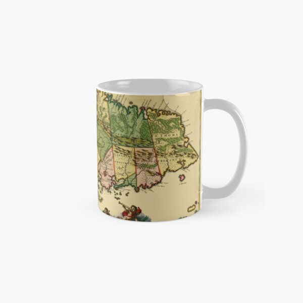 Old Map Of Jamaica Mugs Redbubble