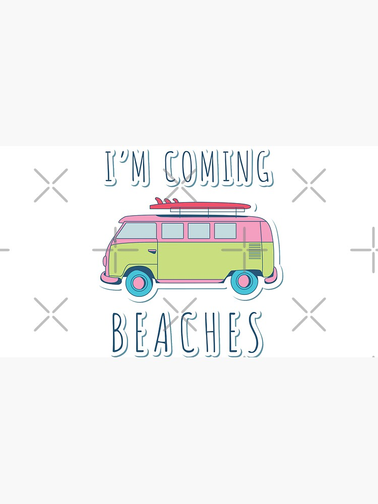 I'm Coming Beaches by a-golden-spiral