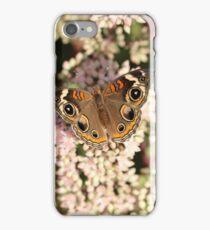 Buckeye Butterfly Macro iPhone Case/Skin