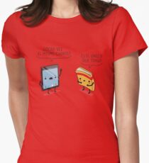 ¿Otra vez el mismo cuento? Womens Fitted T-Shirt
