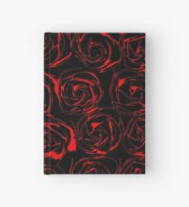 On a Bed of Roses Hardcover Journal