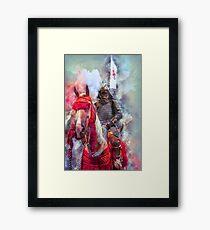 18th Century Samurai Warrior Framed Print