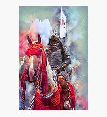 18th Century Samurai Warrior Photographic Print