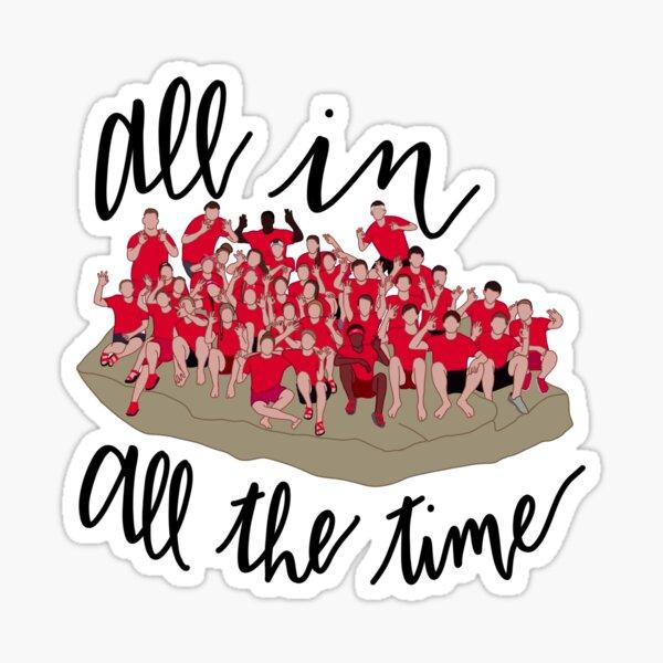 Rotes Team Sticker
