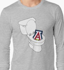 UofA Toilet - Gold Long Sleeve T-Shirt