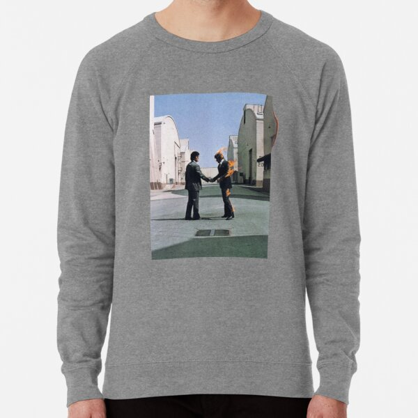 [HIGH QUALITY] Pink Floyd Wish You Were Here Arwork Sweatshirt léger