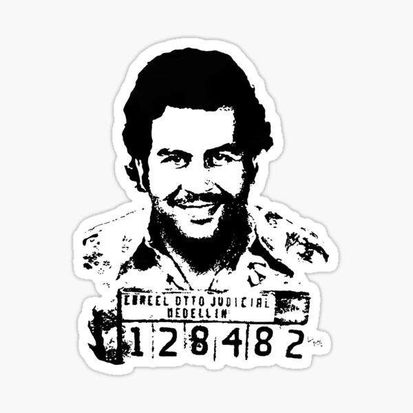 Pablo Escobar Narcos Pegatina