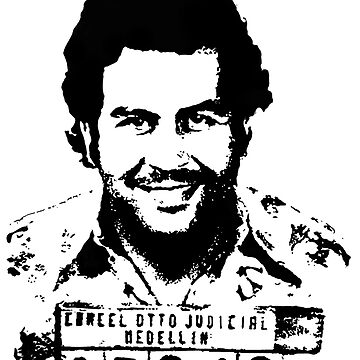 Pablo Escobar Narcos by thrxxd