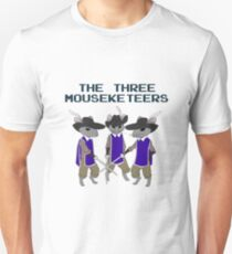 The Three Mouseketeers Unisex T-Shirt