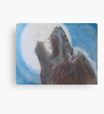 Lunar Lupin Canvas Print