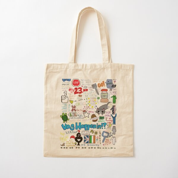 one direction - inside jokes Cotton Tote Bag