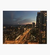 Downtown Toronto City Photographic Print