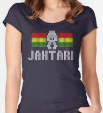 Jahtari Women's Fitted Scoop T-Shirt