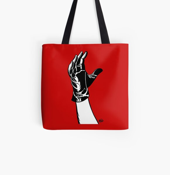 Talk To The Glove! All Over Print Tote Bag