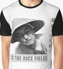 WELCOME TO THE RICE FIELDS - Clean version Graphic T-Shirt