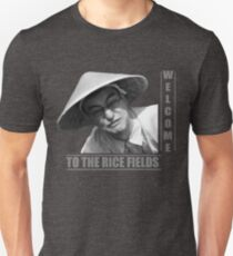 WELCOME TO THE RICE FIELDS - Clean version Unisex T-Shirt
