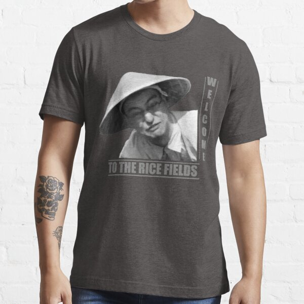 WELCOME TO THE RICE FIELDS - Clean version Essential T-Shirt