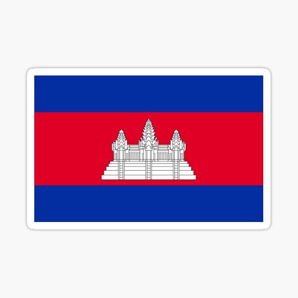 Cambodia Sticker
