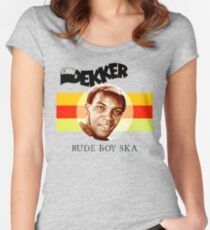 Desmond Dekker Is A Rude Boy Ska Women's Fitted Scoop T-Shirt