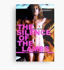THE SILENCE OF THE LAMBS 13 Metal Print