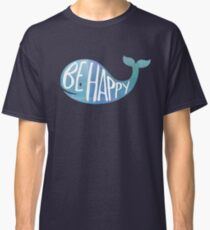 Happy Whale Classic T-Shirt