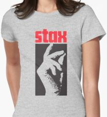Stax Records Womens Fitted T-Shirt