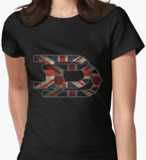 Duran Duran - Union Jack Women's Fitted T-Shirt