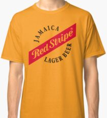 Jamaica Red Stripe Lager Beer Classic T-Shirt