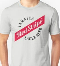 Jamaica Red Stripe Lager Beer T-Shirt