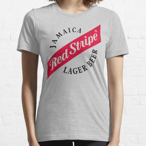 Jamaika-rotes Streifen-Lager-Bier Essential T-Shirt