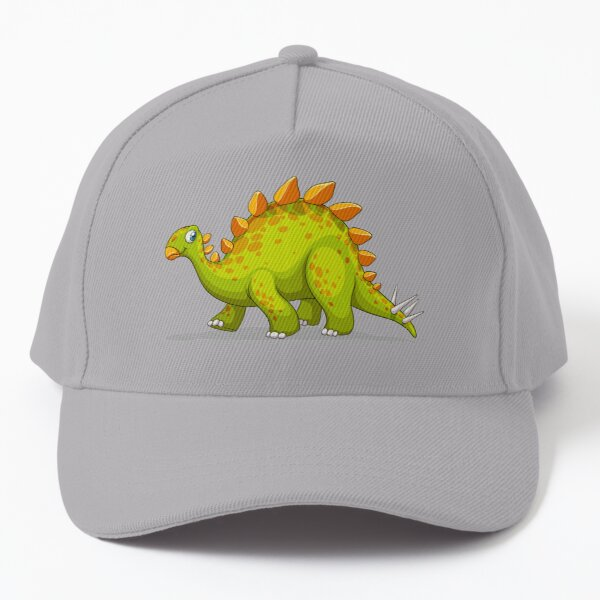 Green Stegosaurus Dinosaur Baseball Cap