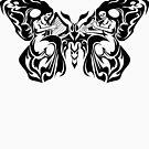 Tribal Moth by TurkeysDesign