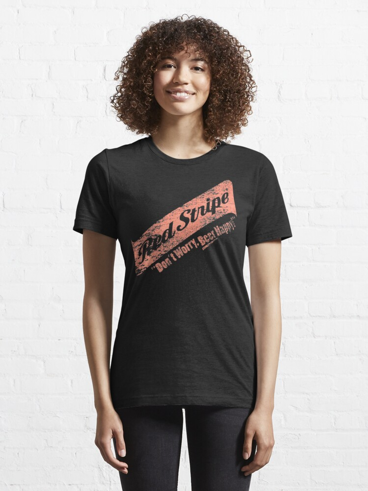 Alternative Ansicht von Mach dir keine Sorgen Red Stripe Bier Happy Essential T-Shirt