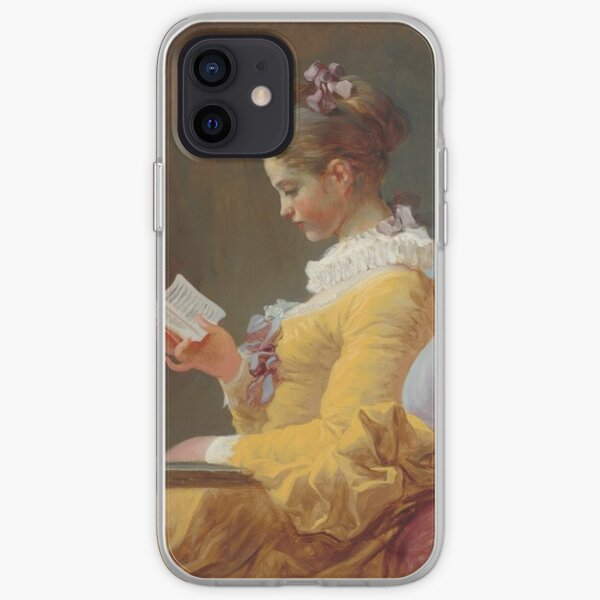 Young Girl Reading, 1769 iPhone Soft Case