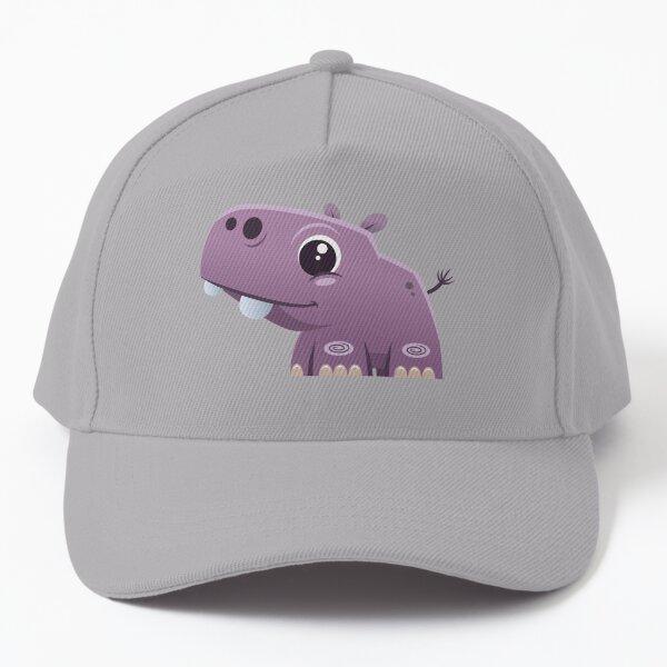 Cute Hippo Baseball Cap