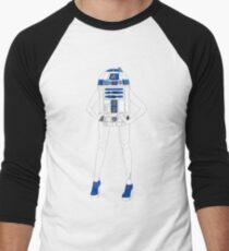 Girl Robot Men's Baseball ¾ T-Shirt