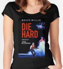 DIE HARD 5 Women's Fitted Scoop T-Shirt