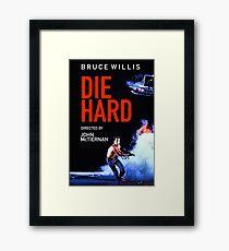DIE HARD 5 Framed Print