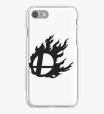 Black Smash Ball iPhone Case/Skin